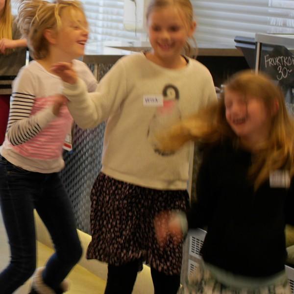 Dansprogrammering –barnen styr varandra