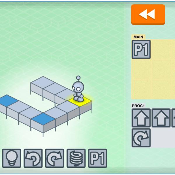 Lightbot: Introducera programmeringstänk med spel